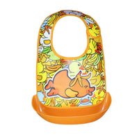 NEW Cartoon Printed Baby Bibs EVA Waterproof