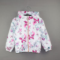 NEW Girls Cute Foxes & Flowers Jacket 1-6 Years
