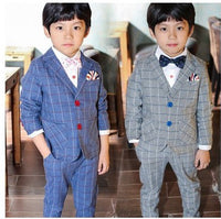 NEW Boys Set Jacket+Vest+Pants 3pcs 4-12Y