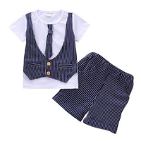 NEW 2pieces baby boy suit