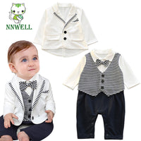 NEW Baby Boy Christening Tuxedo Suit Set 3M-3Y