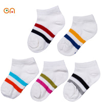 NEW 5pairs Breathable cotton Mesh Socks for 0-10T 8 STYLES