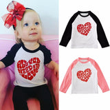 NEW 1-5 Years Baby Girls Black+Pink Top