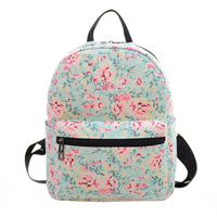 NEW  Backpack Canvas Flower