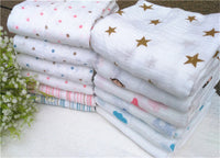 Baby Swaddling Blankets 100% Cotton 120x120cm