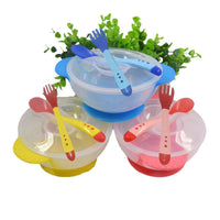 Kids sensing temperature dinnerware