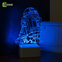 Star Wars Lamp 3D