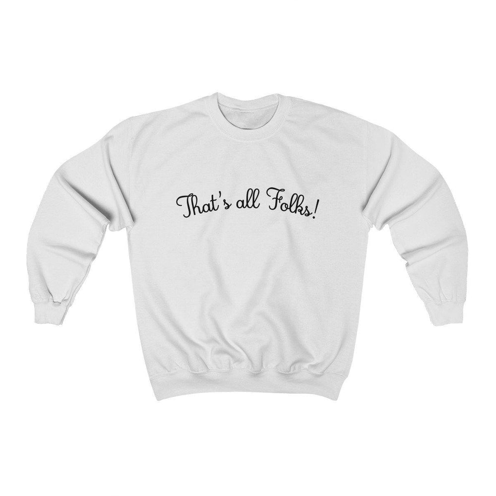 Anthony Davis shirt Thats All Folks Crewneck Sweatshirt - Miss Deplorable