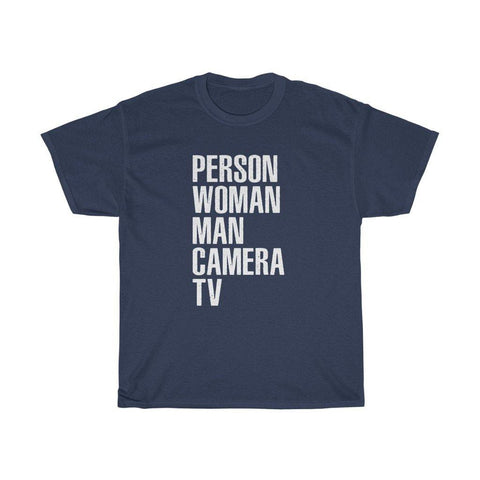 Person Woman Man Camera TV Shirt Funny Mens Womens Classic T-Shirt
