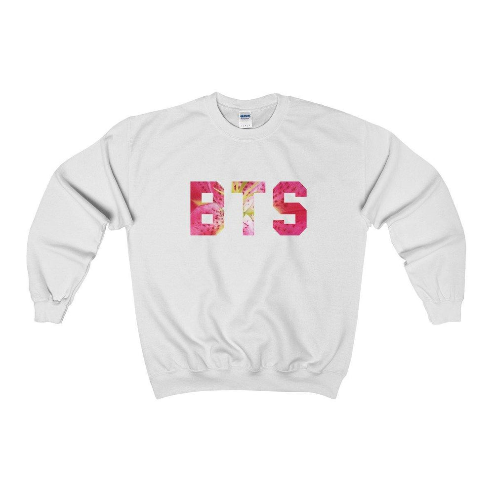 Bts Sweater - Bts Oriental Flowers Sweatshirt - Bts Shirts - Bts Army Crewneck Sweatshirt - BTS Merch - Miss Deplorable