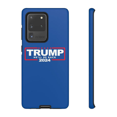 Trump 2024 Phone Case He'll Be Back iPhone Cases