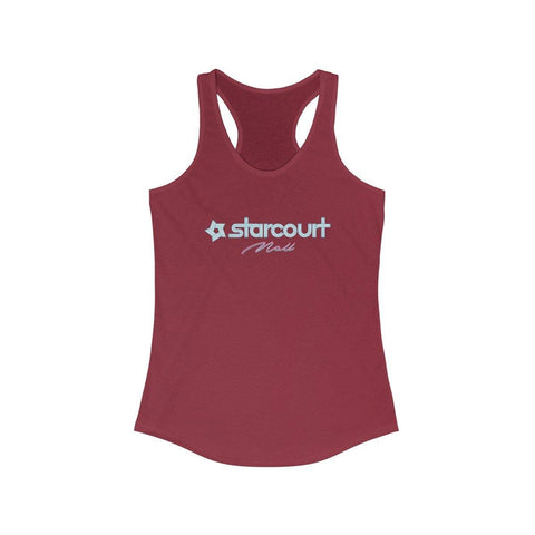 Starcourt Mall Shirt - Women's Stranger Racerback Tank Top - Miss Deplorable