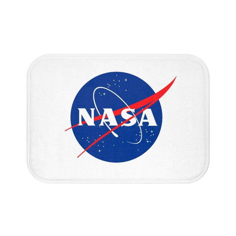 NASA Logo Bath Mat - Space Bath Mat - NASA Space Home - Space Gifts - Miss Deplorable