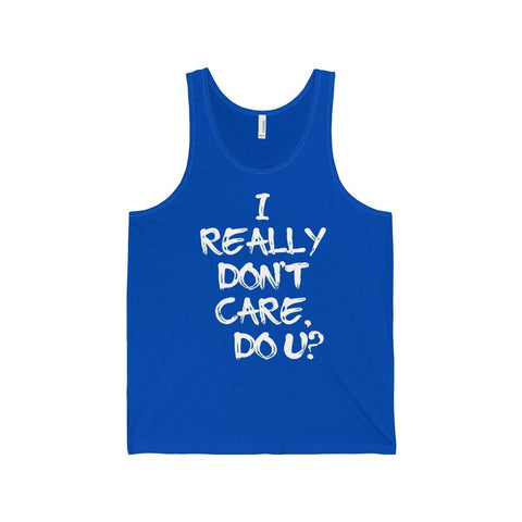 I Really Dont care Do U? Melania Trump Tank Top - Miss Deplorable