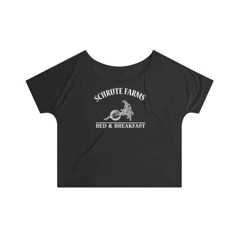 Schrute Farms Women's Slouchy Top - Beets Bed And Breakfast T-Shirt - Miss Deplorable
