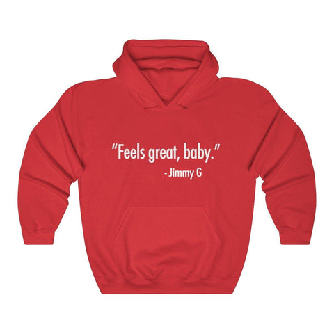 Feels Great Baby Hoodie - Feels Great Baby Shirt Hooded Sweatshirt - Miss Deplorable