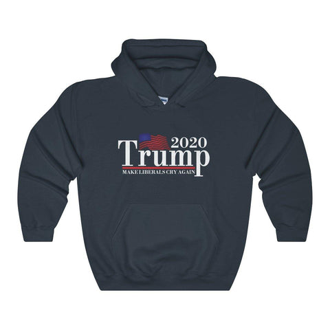 Donald Trump 2020 - Make Liberals Cry Again Hoodie - Miss Deplorable