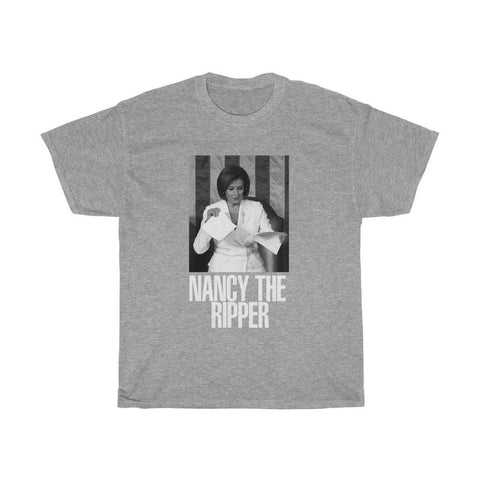Nancy The Ripper Shirt - Nancy Pelosi Ripping State of the Union T-Shirt - Miss Deplorable