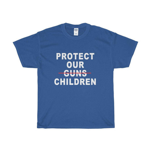 Protect Our Guns Children T Shirt - As Worn By Khalid - Gun Control Tshirts - Miss Deplorable
