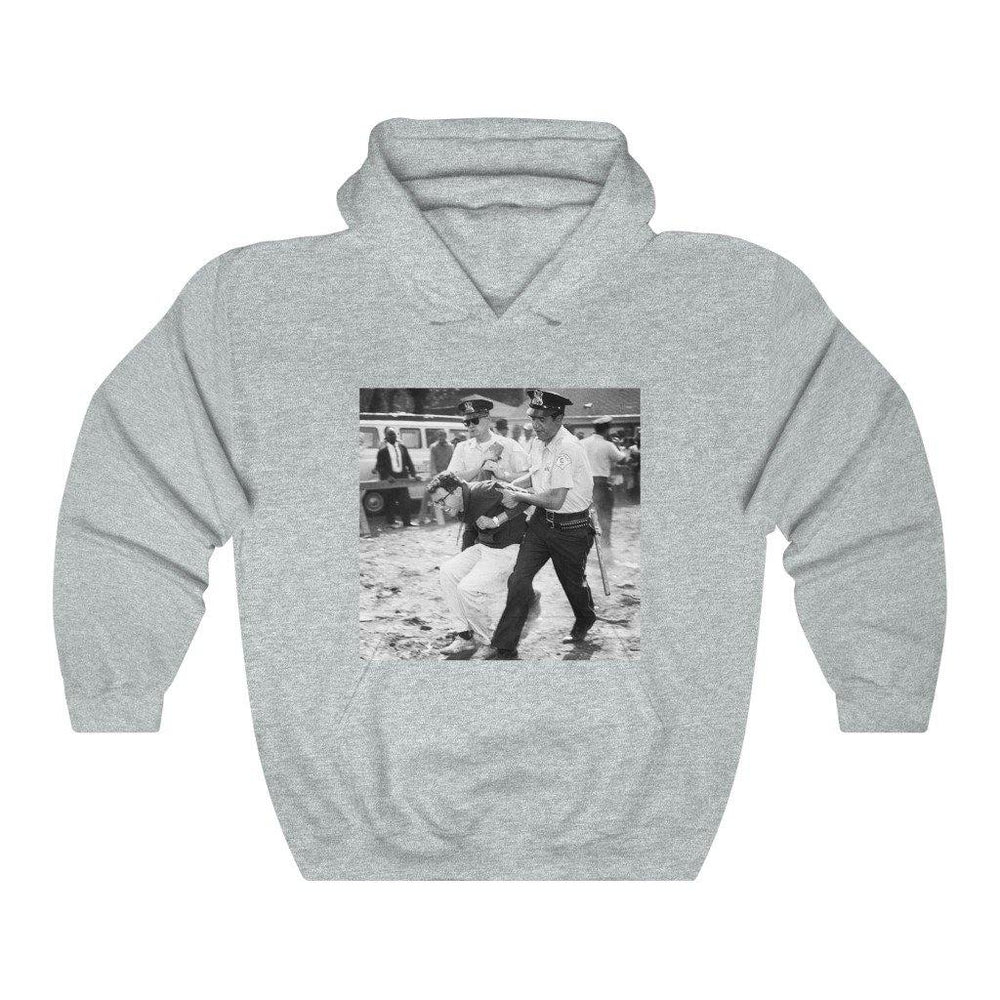 Bernie Sanders 1963 Arrest Photo Shirt - Bernie 2020 American President Hooded Sweatshirt - Miss Deplorable