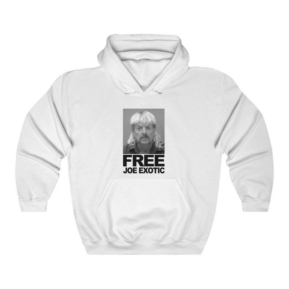 Free Joe Exotic Hoodie Mug Shot Hooded Sweatshirt - Miss Deplorable