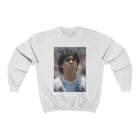 Maradona Shirt Long Sleeve Classic Sweatshirt