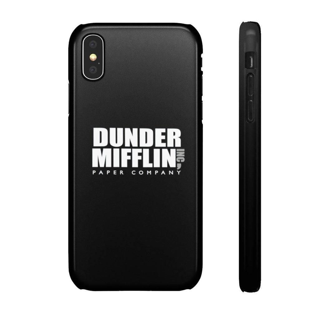 Dunder Mifflin Paper Company Iphone Cases - The Office TV Show - Miss Deplorable