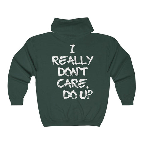 Melania Trump Jacket - I Really Don't Care Do U Hooded Sweatshirt for $49.00 at Miss Deplorable