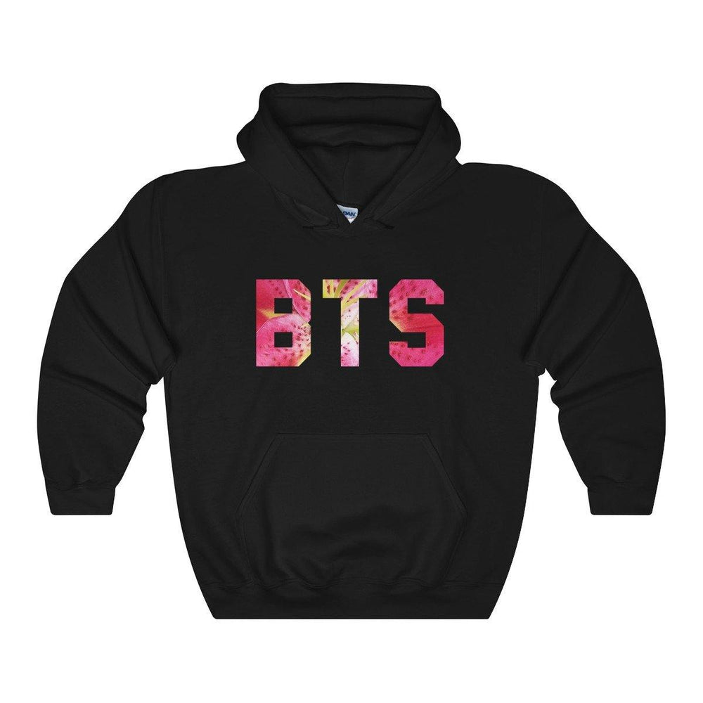BTS Hoodie - Bts Oriental Flowers Hooded Sweatshirt - BTS Merch - BTS Army Hoodie for $39.00 at Miss Deplorable