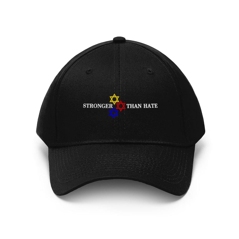 Love Is Stronger Than Hate Baseball Hat Star Of David Cap - Miss Deplorable
