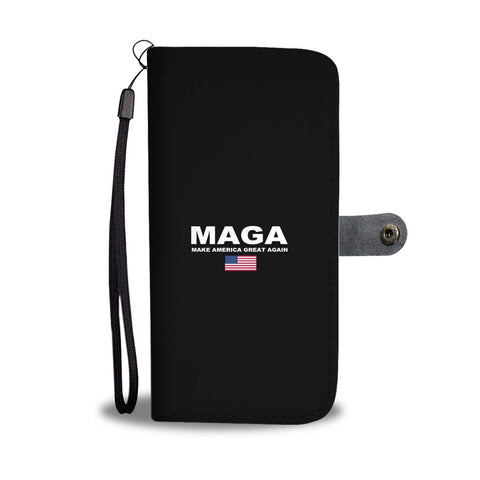 Donald Trump Make America Great Again MAGA Wallet Phone Case for $29.99 at Miss Deplorable