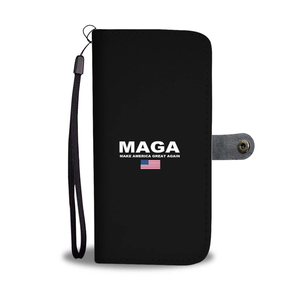 Donald Trump Make America Great Again MAGA Wallet Phone Case - Miss Deplorable