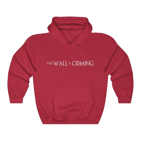 The Wall Is Coming Hoodie - Miss Deplorable