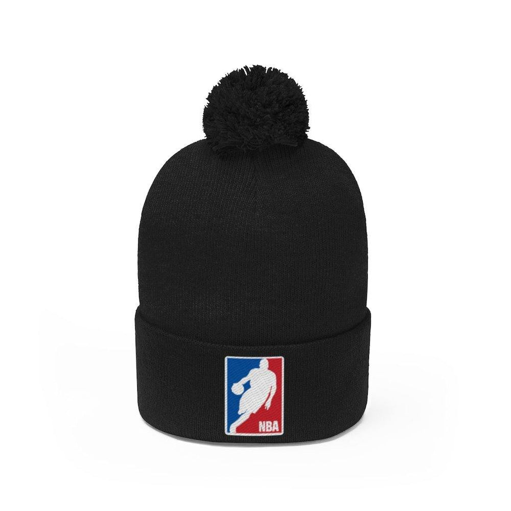 Kobe Bryant Hat - New Basketball Logo Pom Pom Beanie - Miss Deplorable