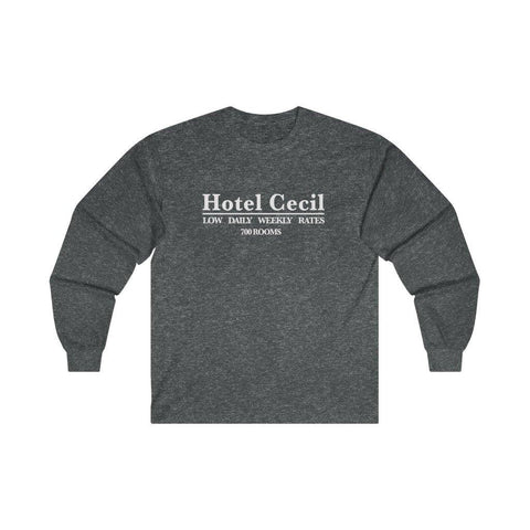 Hotel Cecil Shirt - Long Sleeve T-Shirt