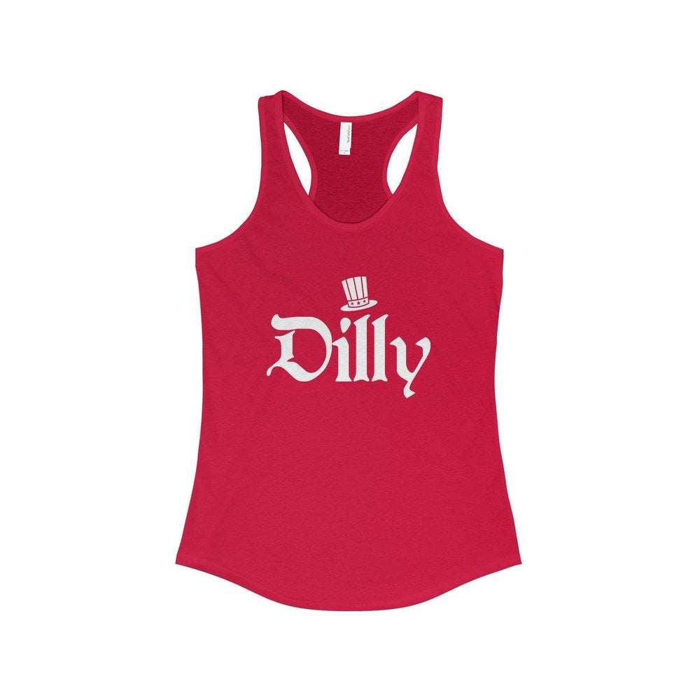 4Th Of July Couples Shirts - Dilly Dilly American Stars Matching Tank Tops - Fourth Of July Patriotic Group Tanks - Independence Day Outfits - Miss Deplorable