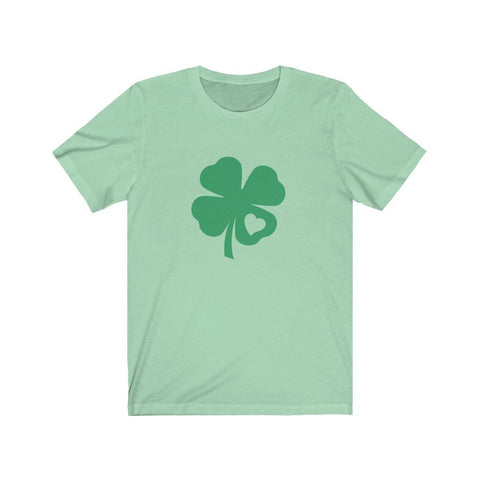 FOUR LEAF CLOVER - Love Heart Tee - Miss Deplorable