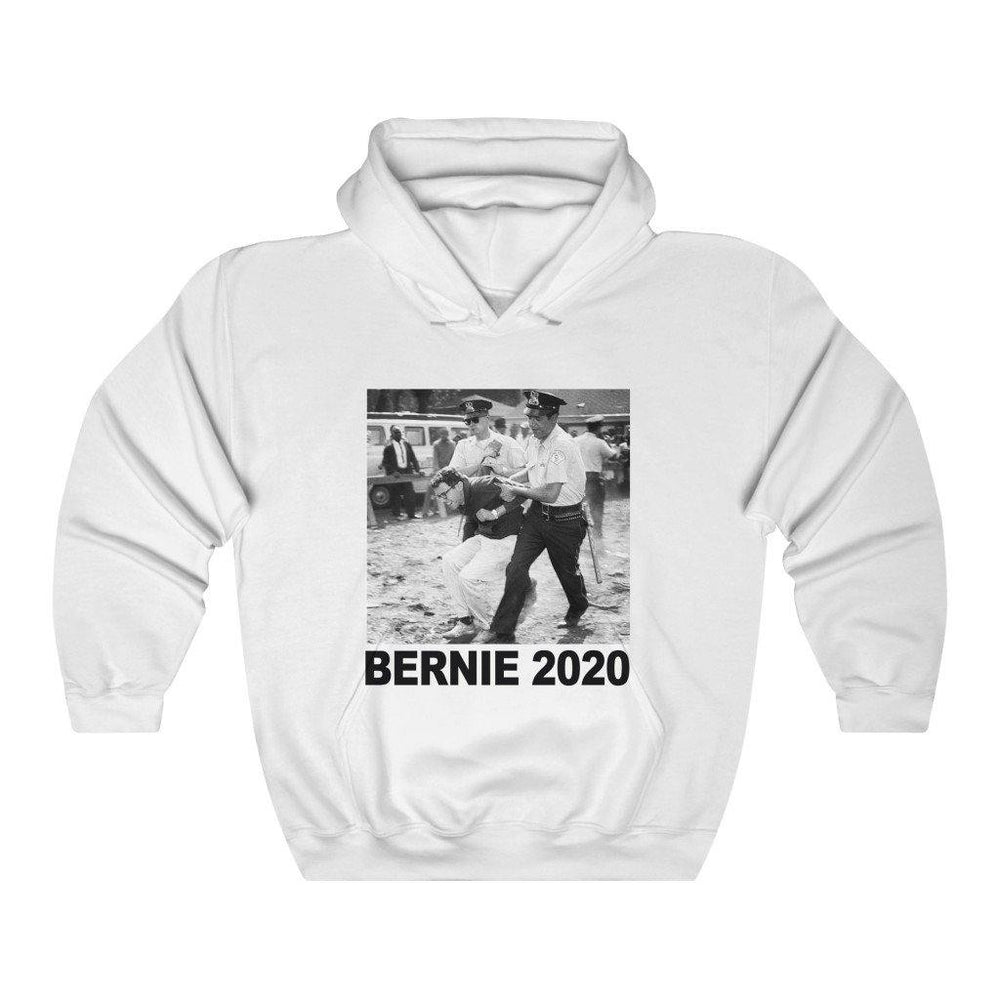 Bernie Sanders Arrest 1963 Hoodie Bernie 2020 American President Hooded Sweatshirt - Miss Deplorable