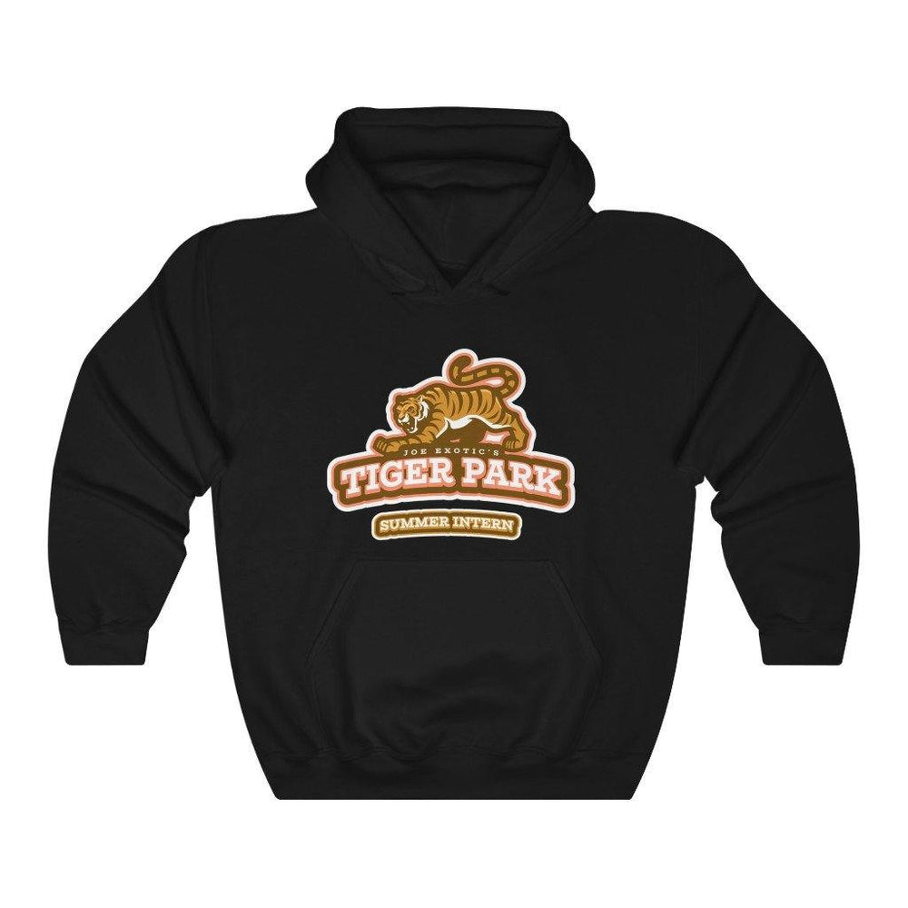 Joe Exotic's Tiger Park Hoodie Summer Intern Hooded Sweatshirt - Miss Deplorable