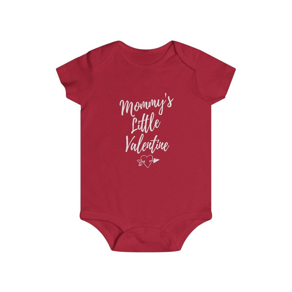 Baby Valentines Shirt Valentines Day Infant Rip Snap Tee - Miss Deplorable