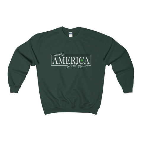 Make America Great Again Irish Shamrock Sweater - Miss Deplorable