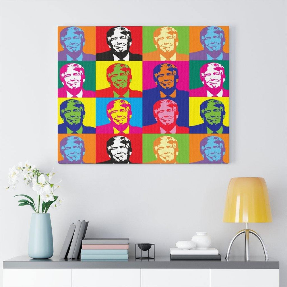 Trump Pop Art Canvas for $50.00 at Miss Deplorable