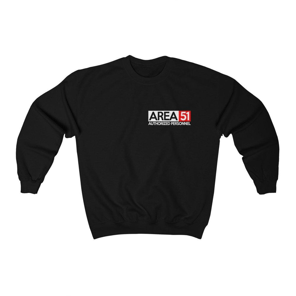 Area 51 Sweater - Storm Area 51 Shirt -  Authorized Personnel Crewneck Sweatshirt - Miss Deplorable