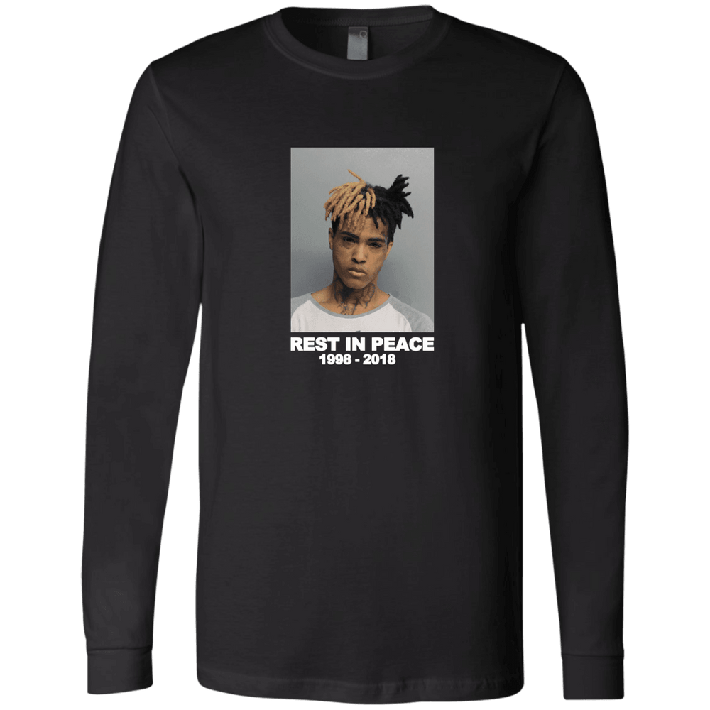 Xxxtentacion Long Sleeve T-Shirt for $29.00 at Miss Deplorable
