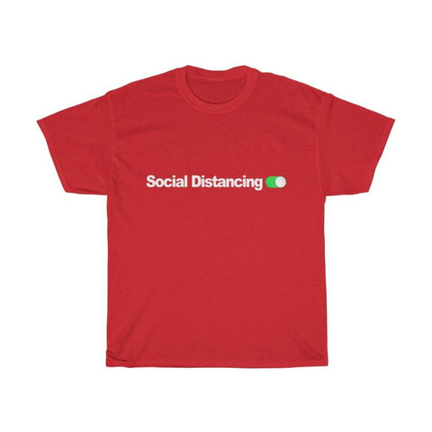 Social Distancing Switched On Shirt - Miss Deplorable