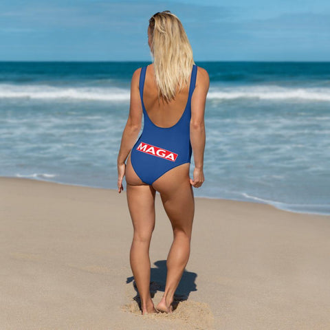 Donald Trump Make America Great Again MAGA Bathing Suit