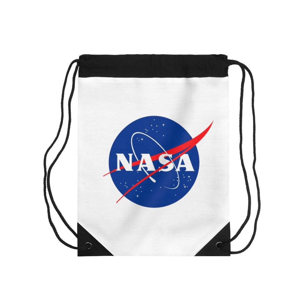 NASA Logo Drawstring Bag - Space Bag - NASA Space Bag - NASA Gym Bag - Miss Deplorable