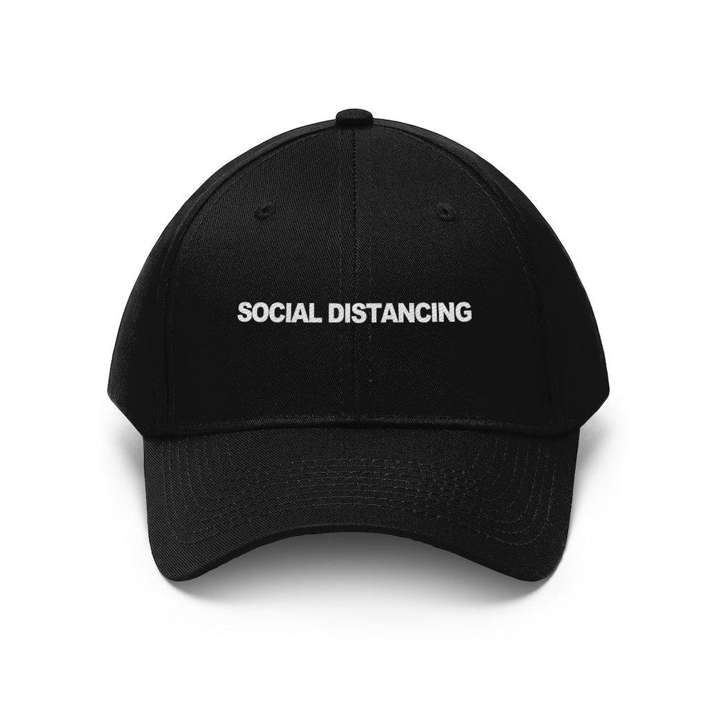 Social Distancing Hat - Embroidered Baseball Caps - Miss Deplorable