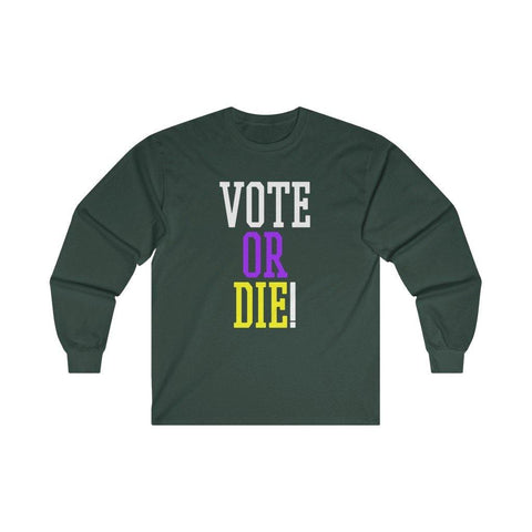 Vote Or Die Shirt LeBron Long Sleeve T-Shirt