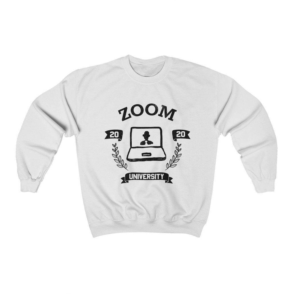 Zoom University Shirt Crewneck Sweatshirt - Miss Deplorable